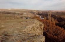 Зайцевские скалы в Ростовской области
