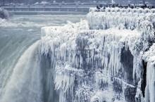 Как выглядит Ниагарский водопад, который замерз из-за аномальных морозов