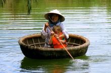 Как во Вьетнаме появились круглые лодки, и почему они используются по сей день