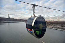 Как доехать до канатной дороги в Москве на Воробьевых горах и Лужниках