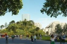 Зачем в Лондоне собираются возводить искусственный зеленый холм