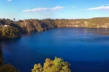 Откуда в Алжире появилось озеро, наполненное самыми настоящими чернилами