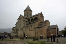 Старейший храм 11 века в Грузии в городе Мцхета