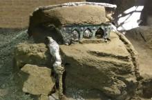 В Помпеях нашли древнюю колесницу возрастом более 1900 лет