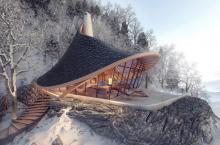 В Японии планируется отель с номерами из прозрачных стен и крышами в виде дамских шляпок