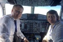 Женщина-пилот поделилась приметами перед полетом