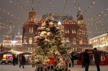 Как преобразились города перед новогодними праздниками