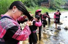 В какой деревне женщины стригут свои волосы только один раз в жизни
