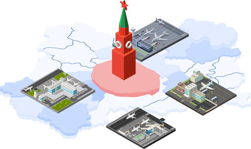 карта метро москвы с жд вокзалами и аэропортами