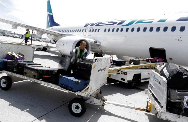 За багаж отвечает авиакомпания