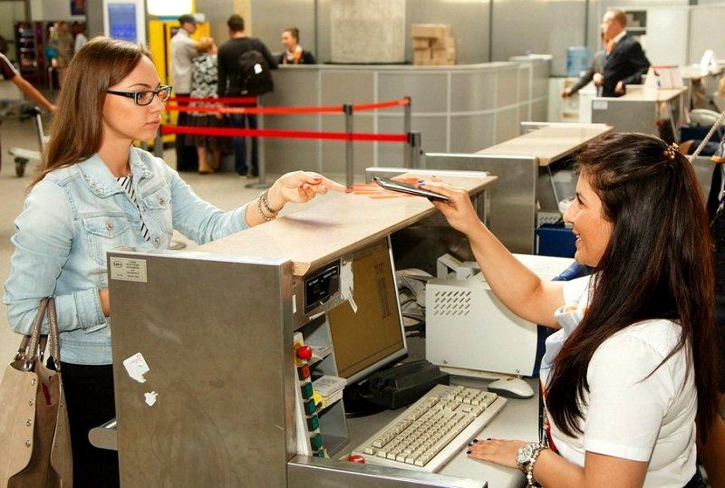 Регистрация на самолет начинается за 2 часа до вылета