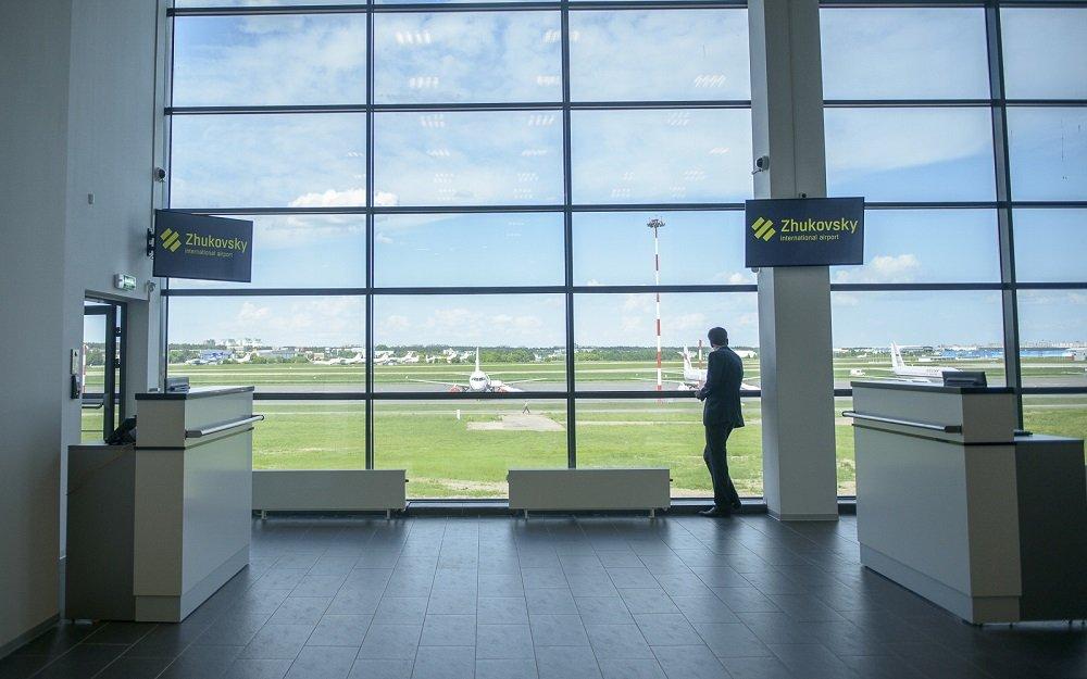 Аэропорт жуковский внутри