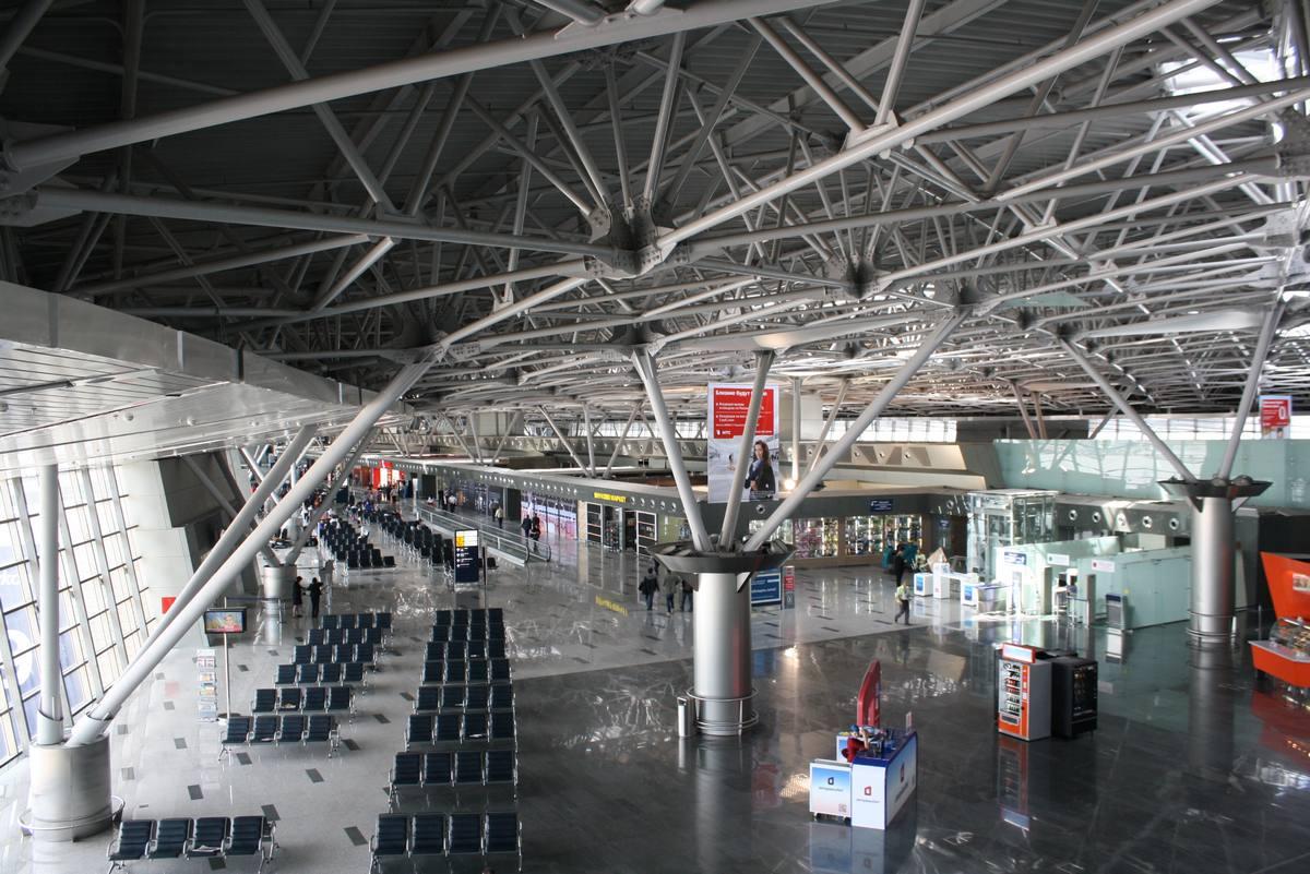 Терминал в аэропорту внуково
