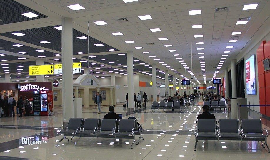 Зал ожиданий в аэропорту