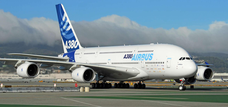 Двухэтажный airbus модели а380