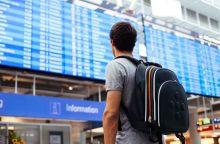 Электронное табло в аэропорту