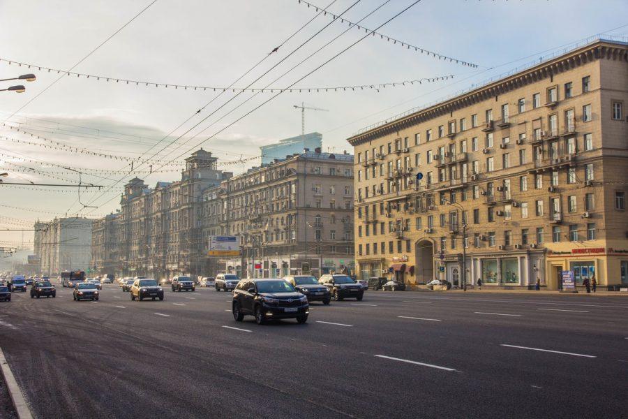 Кутузовский проспект в москве