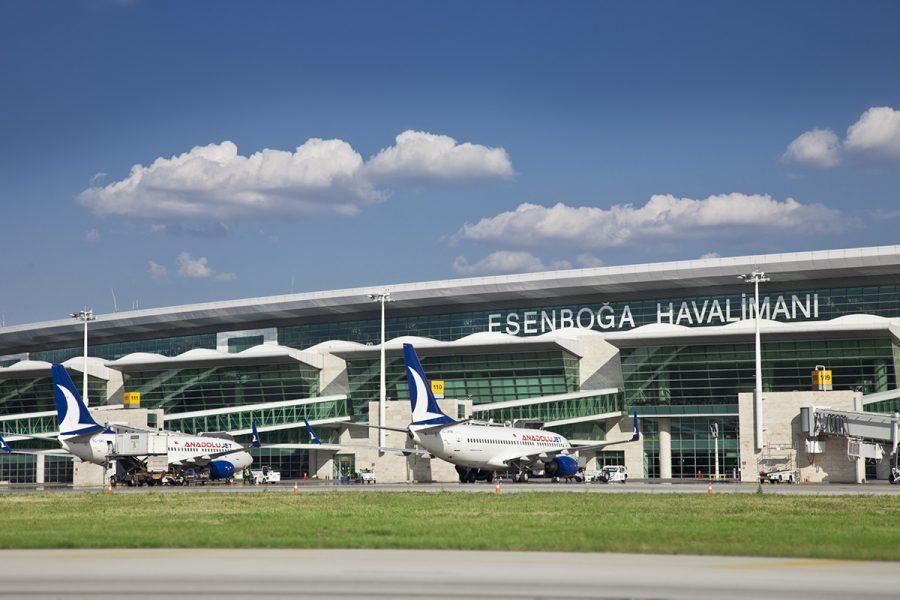Аэропорт Анкары Эсенбога
