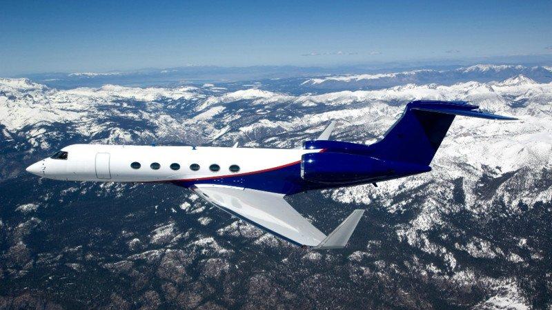 Gulfstream V актера Джими Керри
