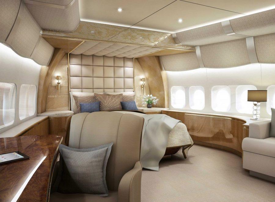 Boeing 747-400 принца Саудовской Аравии