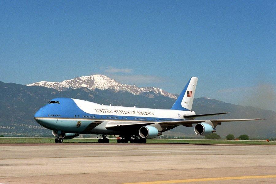 Boeing 747-200В Джорджа Буша