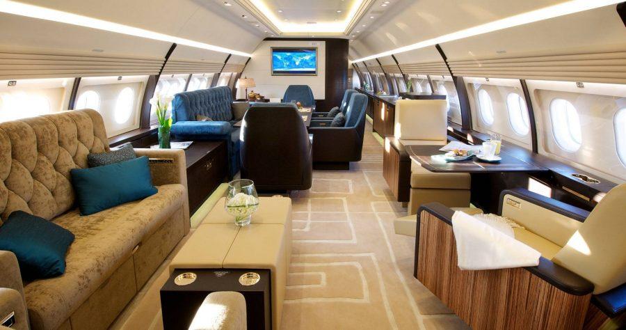 Boeing 767 Романа Абрамовича