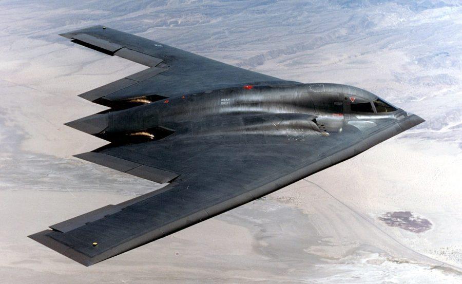 Самолет B-2 Spirit Stealth Bomber