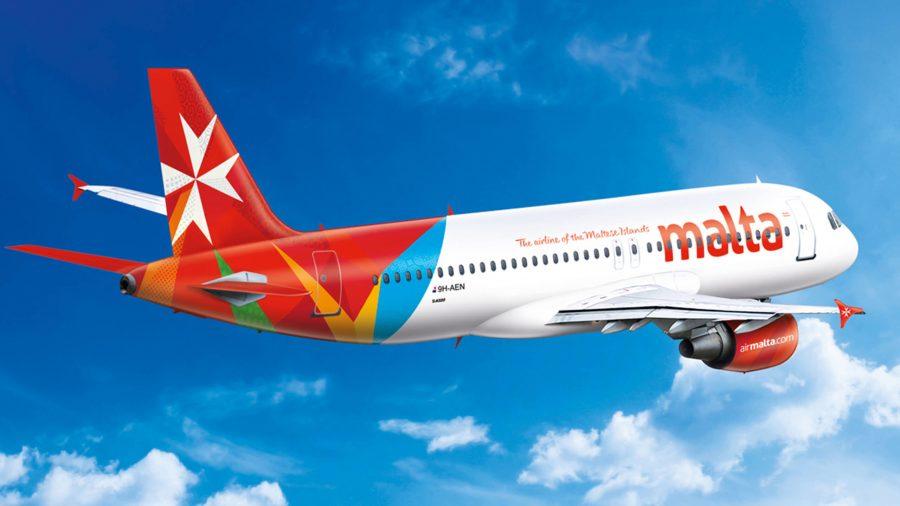 Самолет авиакомпании Air Malta