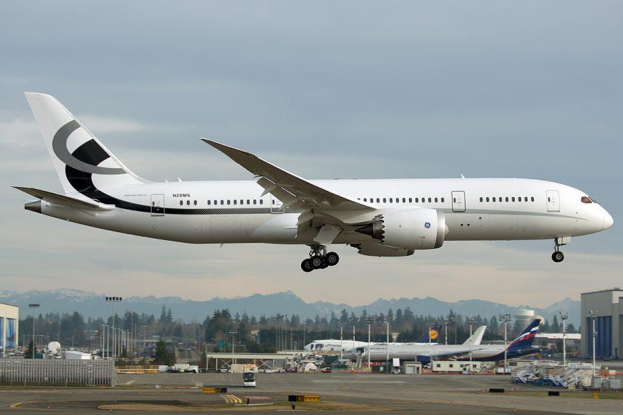 Boeing 757-8I VIP азиата Джозефа Лау
