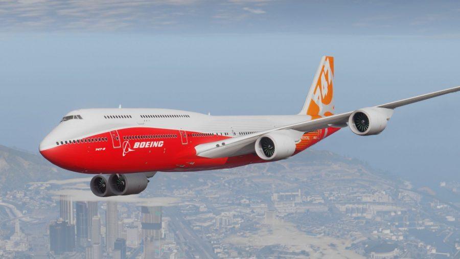 Boeing 747 короля Свазиленда