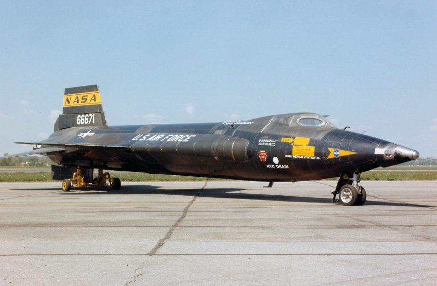 Сверхзвуковой самолет X-15 North American
