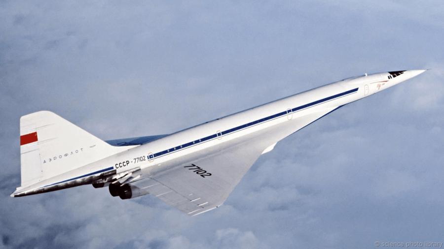 Самый скоростной самолет в гражданской авиации ТУ-144