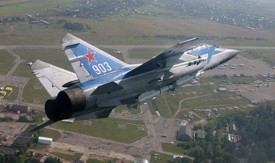 Сверхзвуковой самолет Миг-31