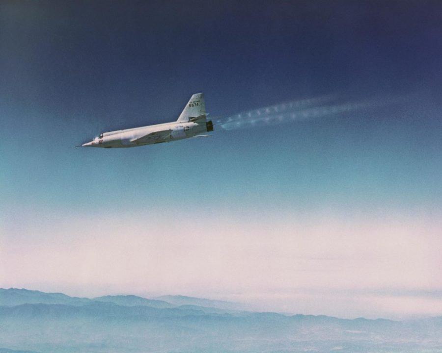 Быстрый самолет Starbuster Bell X-2