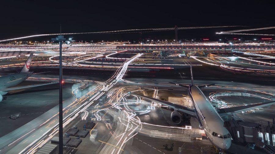 Аэропорт Ханэда расположенный в токио