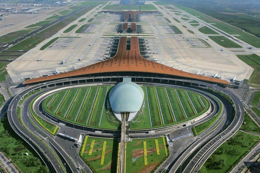 Авиакомплекс Шоуду в китае
