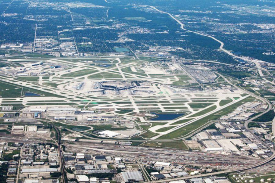 Аэропорт О'Хара расположенный в США