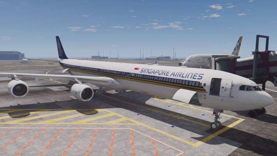 Востребованный самолет Airbus A340-600
