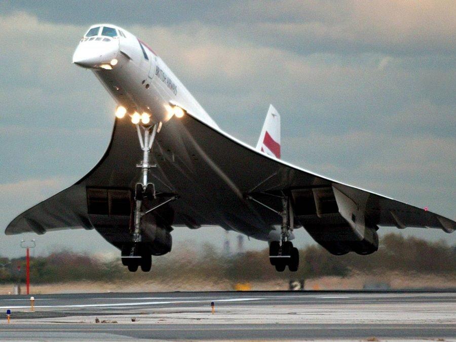 Concorde с заостренным носом