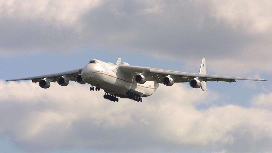 Самый большой грузовой самолет Ан 225 Мрия