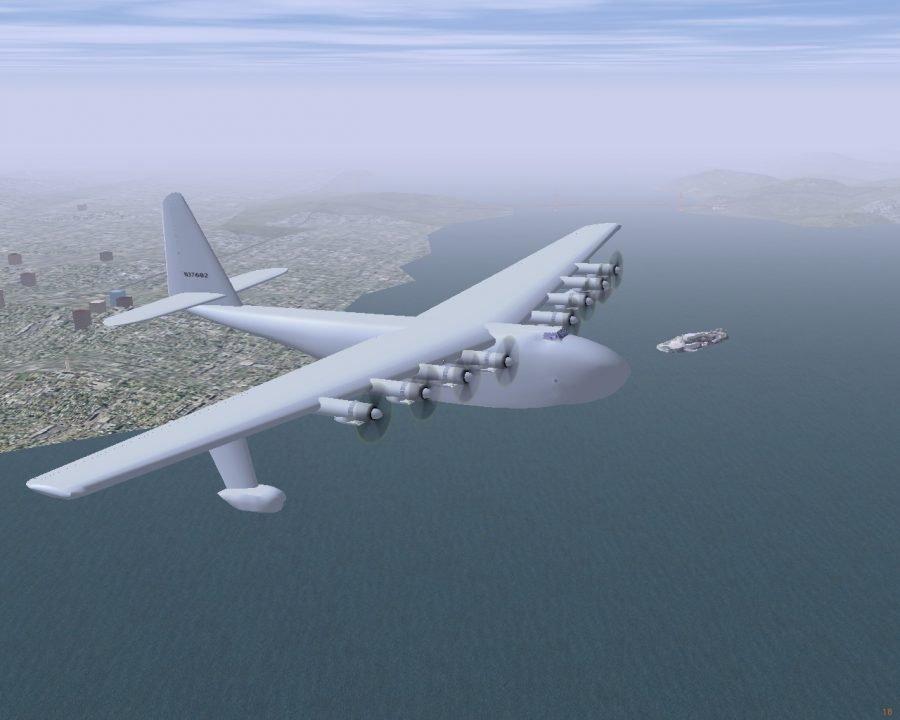 Самолет Hughes H-4 Hercules