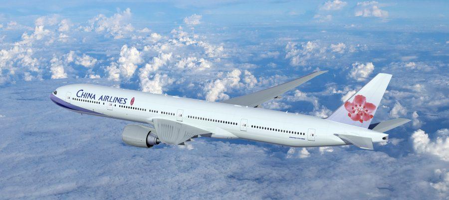 Большой самолет Boeing 777-300ER