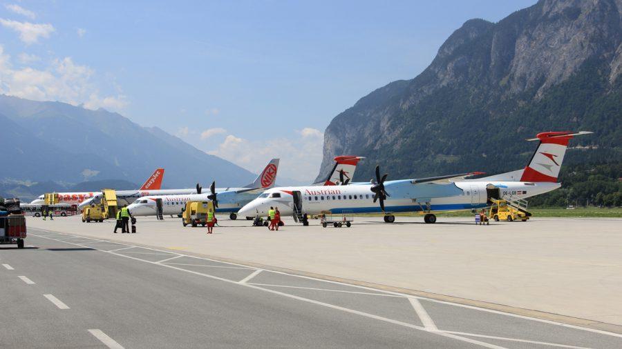 Аэропорт Кранебиттен Австрия