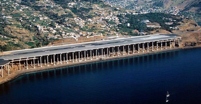 Аэропорт Мадейры Португалия