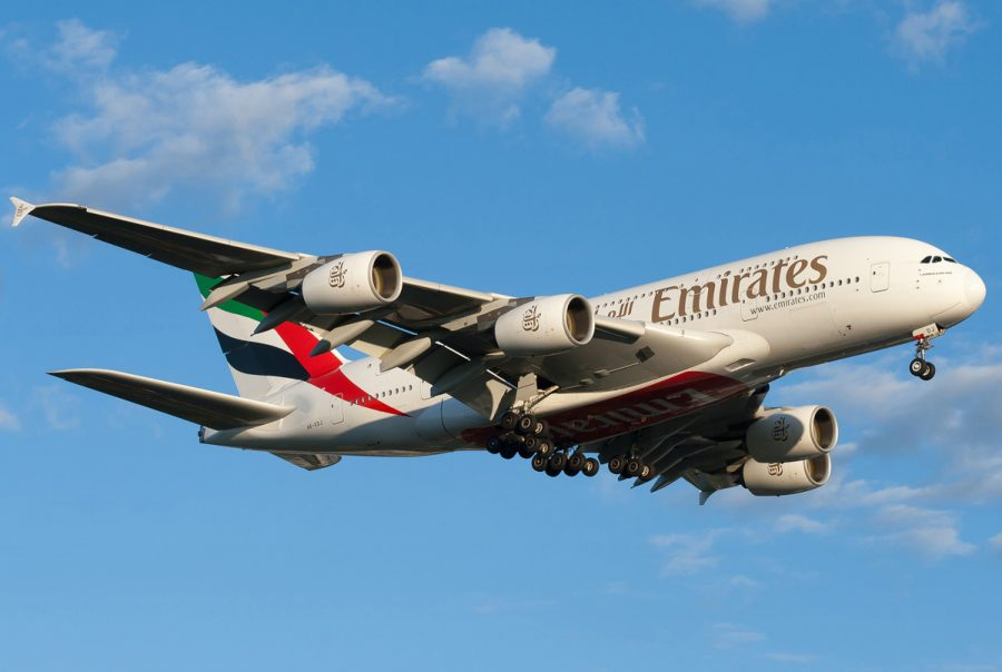 Dоздушное судно от компании Emirates