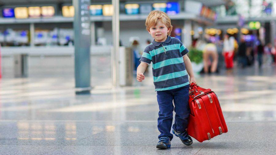 Встречать ребенка в аэропорту