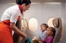 Ребенок летит без сопровождения