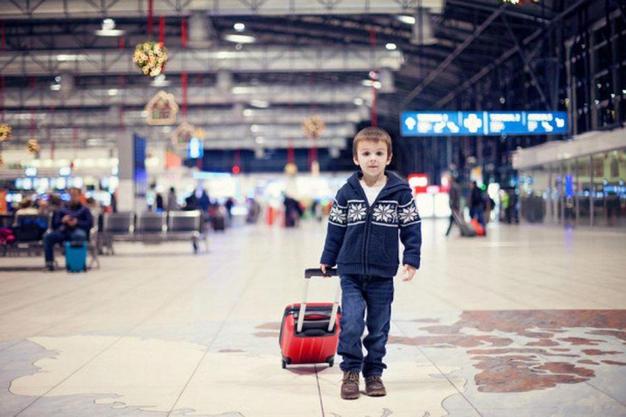 Доставить подопечного в аэропорт