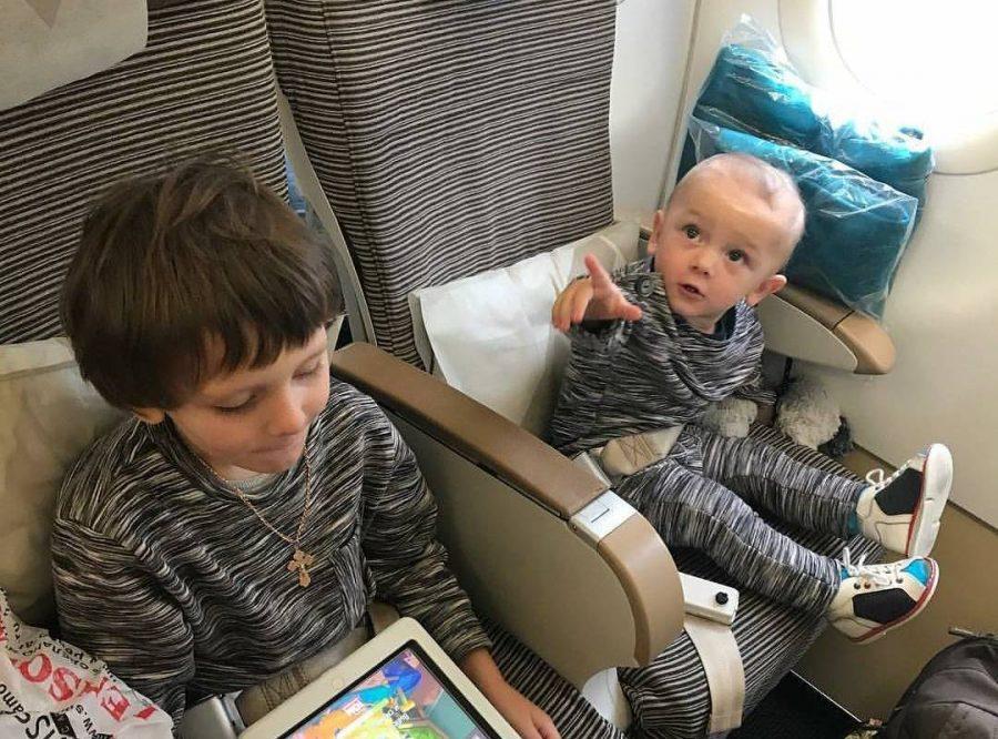 Путешествие с двумя детьми