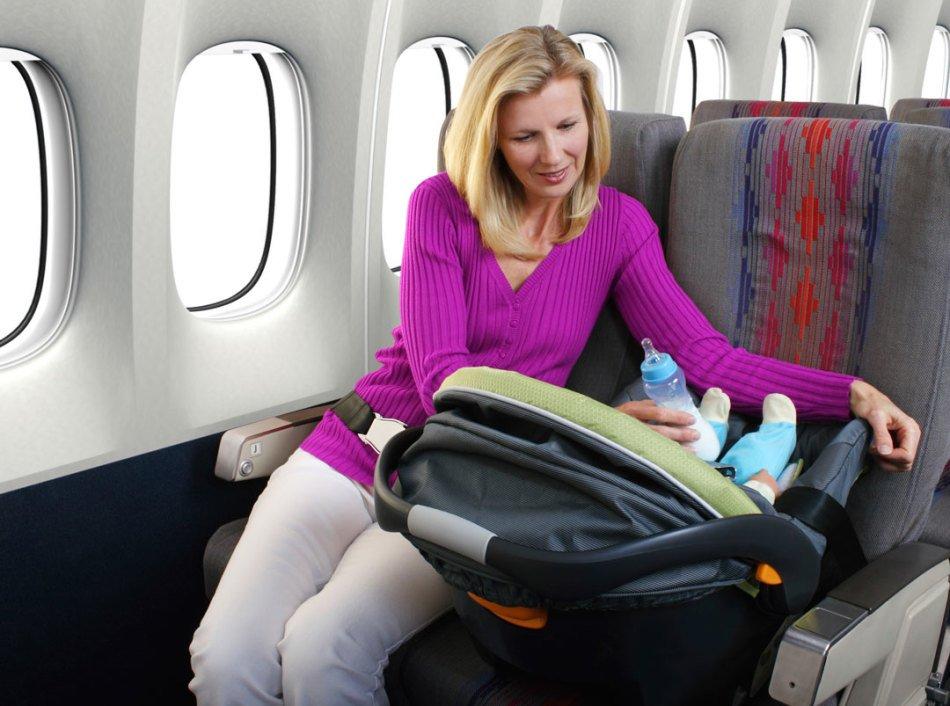 Провозить люльку в самолете